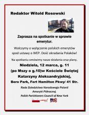 Redaktor Witold Rosowski12marcaSolid