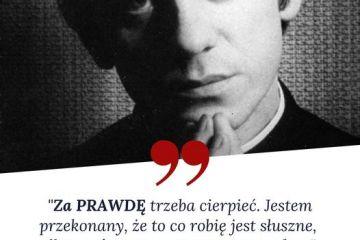 37 rocznica porwania bł.ks. Jerzego Popiełuszki