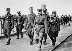 Na Mocie Poniatowskiego 12 maja 1926