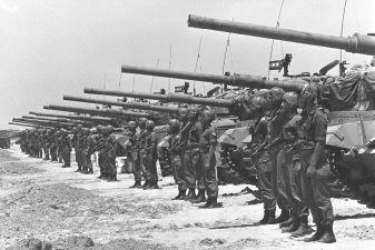 Oddziay izraelskie w wojnie 6 dniowej fot historyofuesterdaycom