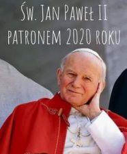 sw JP II patronem roku 2020